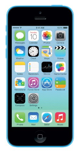 Apple iPhone 5C Smartphone (4 Zoll (10,2 cm) Touch-Display, 16 GB Speicher, iOS) Blau