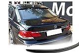 Car-Tuning24 54984567 wie Performance und M3 E65 E66 7er spoiler Lippe UNLACKIERT Matt Schwarz heckspoiler