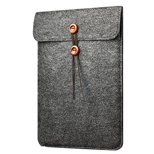 Housse de Protection Macbook Air / Macbook Pro Retina Sacoche Feutre de Laine pour Ordinateur PC Portable
