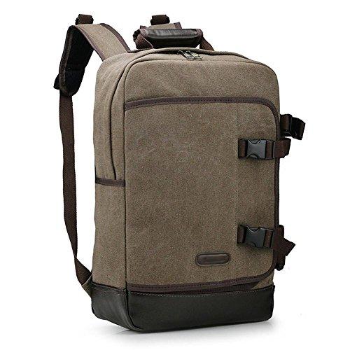 SZH&BEIB Fashion Canvas Rucksack Unisex Outdoor-Reisen Daypack für Schule oder Arbeit Laptop-Tasche C