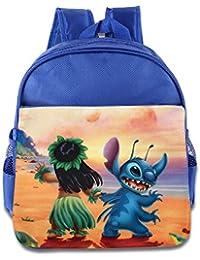Kids Lilo & Stitch School Backpack Cute Baby Boys Girls School Bag RoyalBlue