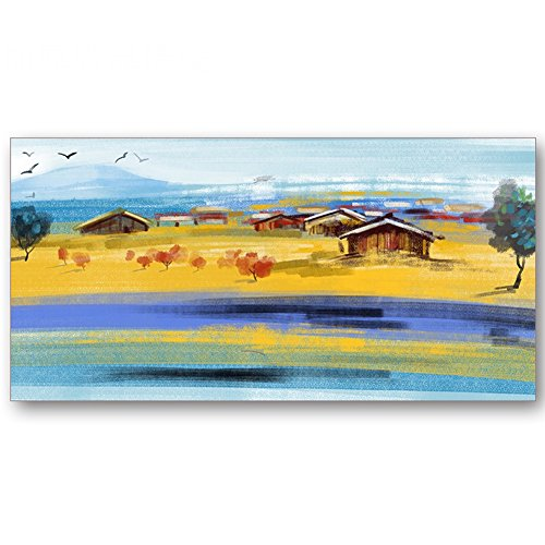 Radiateurs électriques YIXINY Plaque Chauffante Tenture Murale Illustration De Peinture À l'huile Chauffage Au Cristal De Carbone 800W 120 * 60 * 3cm (Couleur : HDJ-82)