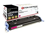 Original Reton Toner, kompatibel, ersetzt Q6003A HP 124A HP Color Laserjet 1600 2600N 2600DN 2605DTN HP Color Laserjet CM1015 CM1015MFP CM1017 CM1017MFP produziert in Anlehnung an DIN33870-1