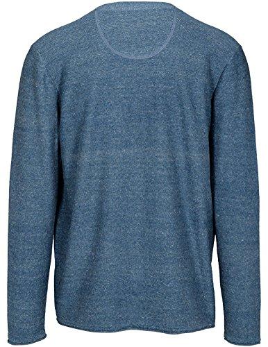 Basefield Herren V Cardigan - Shadow Blue Melange (219011304) 606 SHADOW BLUE MEL.