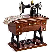 Dibujos animados máquina de coser caja de música