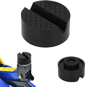 Somio Wagenheber Gummiauflage Stabil Universal Nutzbar Für Reifenwechsel Am Wagenheber Für Pkw Aus Gummi 1x Auto