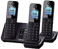 Panasonic KX-TGH263 Trio Link2Mobile Bluetooth Cordless Phone with Call Blocker