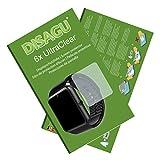 6 x Disagu Ultra Clear Pellicola Protettiva per LaTEC 1.54 Bluetooth Smart Watch