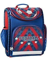 Preisvergleich für Schulranzen Fußball Schulrucksack Football 18-524FL