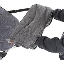 Manicotto | Scaldamani in pile per passeggino | universale, impermeabile, traspirante, antivento, antigelo - colore (Kombi Guanti Invernali)