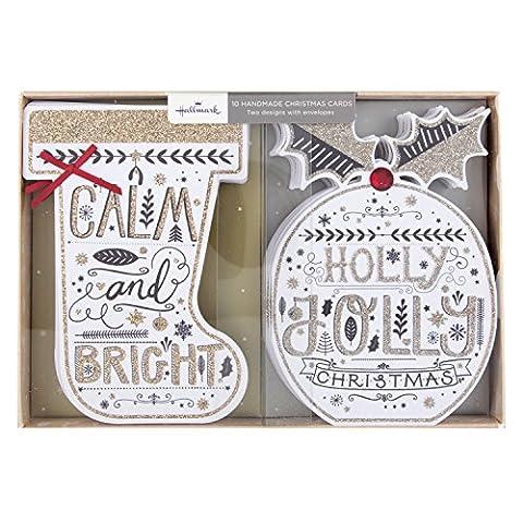 Hallmark Carte de Carte de Noël faite main