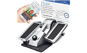Cubii Pro Under Desk Mini Bike - Office Elliptical Exerciser For Keeping Active At Work - Smart iOS/Android App Included - Adjustable Resistance, Quick Assembly, Whisper Quiet