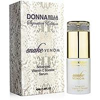 Donna Bella Cosmetics -Serum avanzado de elevación diario con Vitamina C Veneno de Serpiente
