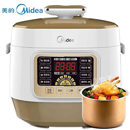 Midea 600W 2.5L Multi-Function Electric Pressure Cooker Rice Cooker WSS2521