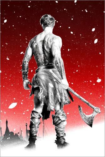 Póster 60 x 90 cm: Viking de Paola Morpheus - impresión artística, Nuevo póster artístico