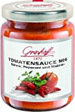 Grashoff Tomatensauce No. 6, mit Peperoni, Majoran und Sahne, 200 ml, 3er Pack (3 x 200 ml)