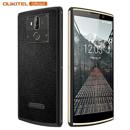 10000mAh Smartphone Ohne Vertrag, Oukitel K7 4G Smartphone 6,0 Zoll, 13MP+5MP Zweifachkamera Android Handy Ohne Vertrag, MT60750T Octa Core 1.5GHz, 4GB+64GB, Dual SIM, Fingerabdruck Sensor-Schwarz 3g Mobile Video Support