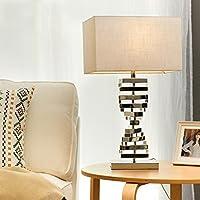 personalità semplice Nordic minimalista bianco in ferro battuto Lampada da tavolo