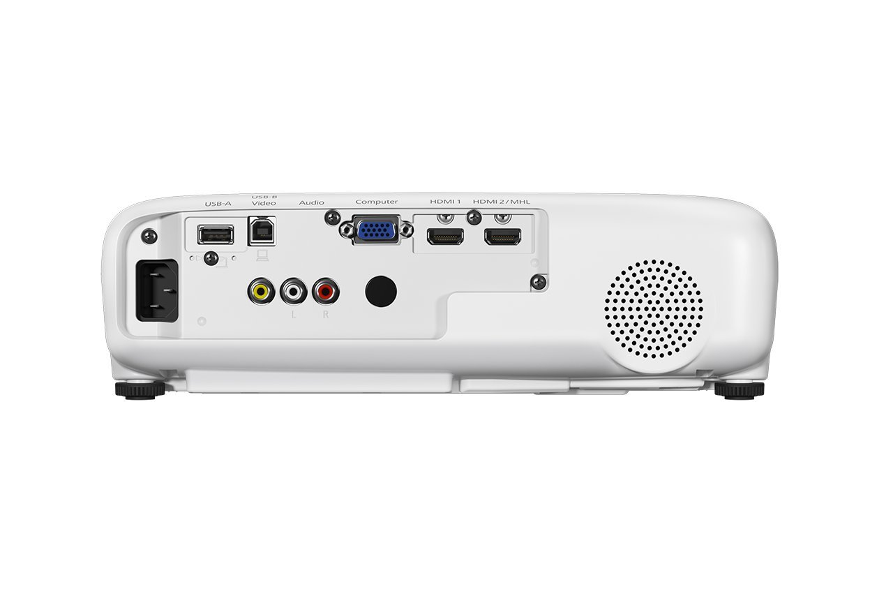 51G0tYjBuhL - Epson EH-TW650 3LCD, Full HD, 3100 Lumens, 300 Inch Display, Wi-Fi, Gaming & Home Cinema Projector - White