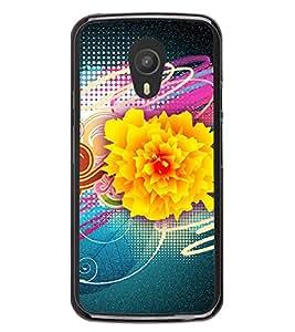 Flower Graffiti 2D Hard Polycarbonate Designer Back Case Cover for Meizu M1 Note
