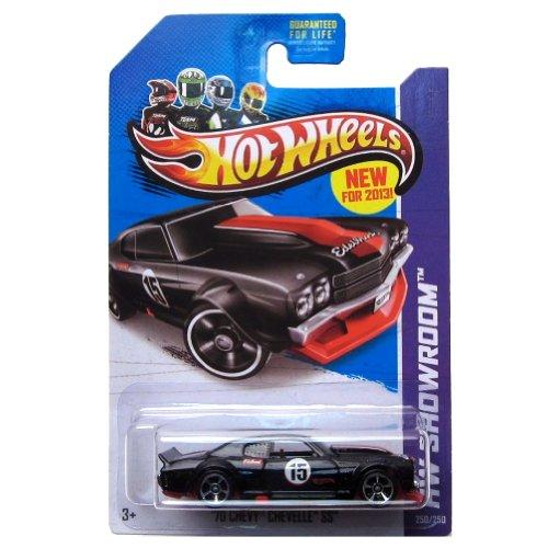 70 Chevy Hotwheels Chevelle (Hot Wheels HW Showroom '70 Chevy Chevelle SS Black #250/250 by Mattel (English Manual))