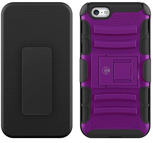 Kabel und Fall iPhone 6S Fall, [Klinge Series]–Heavy Duty Schutz vor Stürzen und–Auch Kompatibel mit Apple iPhone 6[Lila]