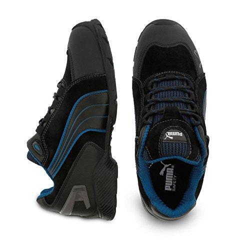Chaussures de sécurité S3 SRC Puma Rio noires/bleues Noir/gris/bleu/blanc