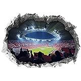 FC Bayern München Wandtattoo 3D für Tapete   Sport