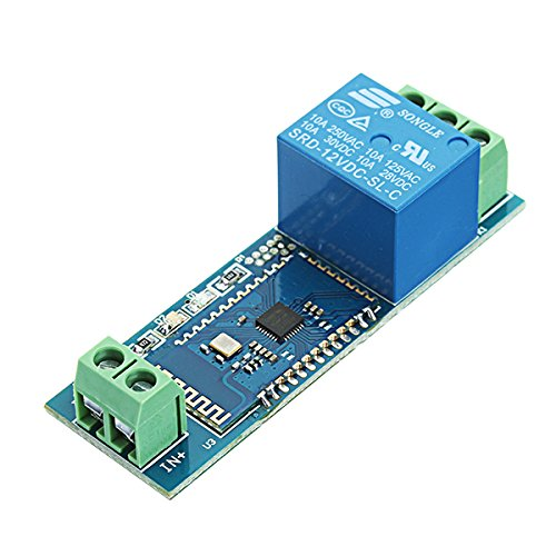 Ils–DC 12V Bluetooth Relay Board Mobile Phone Bluetooth Remote Control Switch