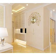 Flashing Lights Europische Persnlichkeit Pastorale Ruhige Dekorative Wanduhr Pendel Uhr Wohnzimmer Schlafzimmer Moderne Kreative