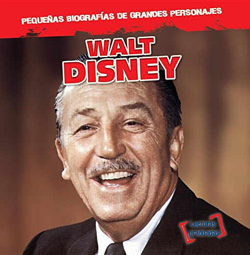 Walt Disney (Pequenas Biografias De Grandes Personajes / Little Biographies of Big People) por Joan Stoltman