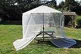 Ombrellone da giardino tavolo Screen net copertura da insetti vespe mosche zanzare Daddy Long Legs ragni–adatto per ombrellone da 2.7m