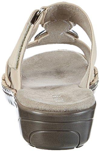 Jenny Korsika-III, Mules Femme Beige (plush)