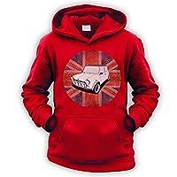 British A-Series Kids Hoodie [Red Medium]