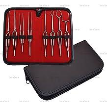 CROSS CERRADURA fibra Apretones Pinzas de Soldadura Kit / Juego de 8 Acero Inoxidable Joyería Herramientas