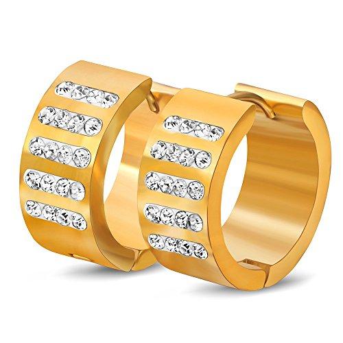 Dana Carrie Edelstahl Dichtmasse Ohrringe Ohrclip Titan Stahl-clip Taschenlampe Wasser bohren Mädchen Ohr schrauben