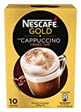 NESCAFÉ Gold Typ Cappuccino Cremig Zart, Getränkepulver aus löslichem Bohnenkaffee mit Kaffeeweißer &...