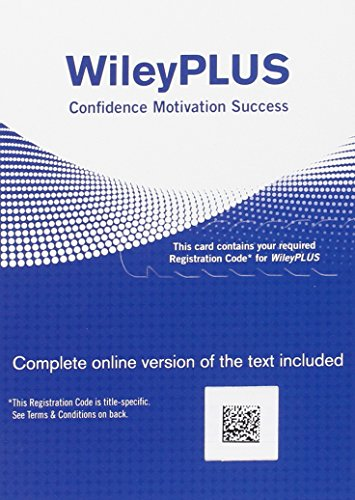 WileyPLUS V5 Card for Physics 9th Edition, Codice di Registrazione
