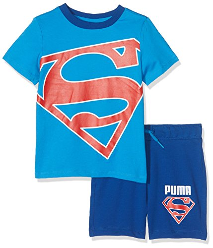 Puma style superman, set bambino, french blue, 74