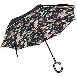 LLAMAS MEXICANAS. Paraguas de mujer.