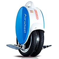 AIRWHEEL Q5 Self Balancing Electric Unicycle with LED Lights and Enhanced Silicone Leg Pad
