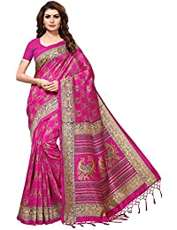 31f9142a3a Amazon.in: Pinks - Silk Sarees: Clothing & Accessories