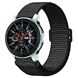 Купить Fintie Armband für Galaxy Watch 46mm / Gear S3 Frontier/Gear S3 Classic - Premium Nylon Atmungsaktive Uhrenarmband Ersatzband mit Verstellbarem Verschluss