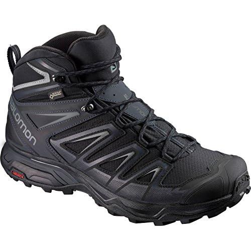 51G1 nSyDvL. SS500  - SALOMON X Ultra 3 Mid Gore-TEX Walking Boots (2E Width) - AW19