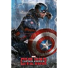 """Capitán América """"Guerra Civil–Capitán América"""" Póster (tamaño grande), multicolor"""