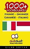 1000+ italiano - giavanese giavanese - italiano vocabolario