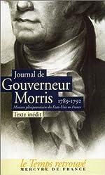 Journal - (1789-1792) de Gouverneur Morris