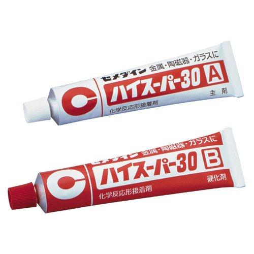 cemedine-30-minuti-adesivo-epossidico-ad-alta-super-set-di-30-80g-ca-193-htrc9-japan-import