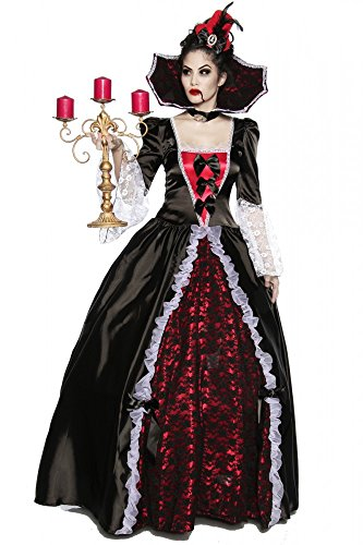 shoperama Halloween Costume Vampiress of Versailles Vampiro Lady Halloween Donna