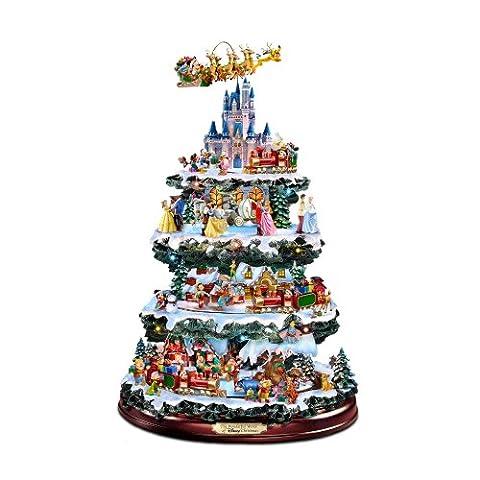 The Bradford Exchange Tisch-Christbaum / Weihnachtsbaum / Disney-Weihnachtsbaum The Wonderful World of (Bradford Albero Di Natale)
